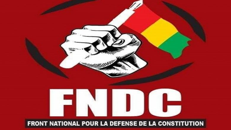 "Arrestation des opposants : le FNDC se prononce ""il est hors de question que Sékou Koundouno se rende…"""